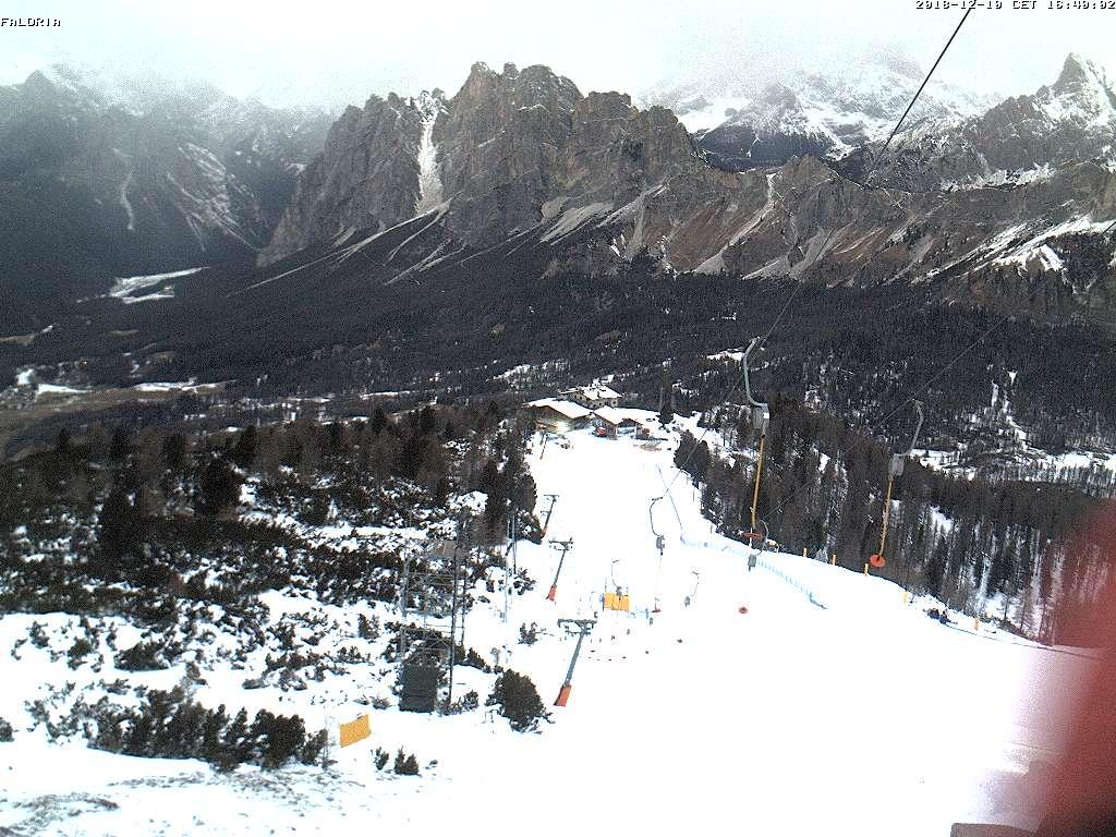 Faloria - vista Tondi e Monte Pomagagnon